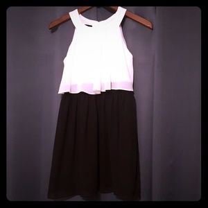 Other - Black and white girls size 12 dress
